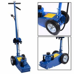 22ton Industrial Air Hydraulic Floor Jack Truck Lift Service Repair Lifting Tool