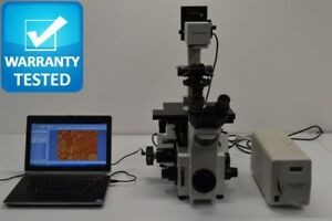 Olympus Ix70 Inverted Microscope Phase Contrast Fluorescence Dic