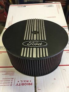 13 Inch Ford Air Cleaner With K n Air Filter