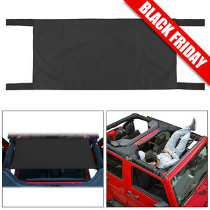 Car Roof Waterproof Hammock Bed Rest Top Cover For 1987 2017 Jeep Wrangler Parts