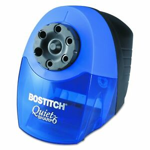 Bostitch Quietsharp 6 Heavy Duty Classroom Electric Pencil Sharpener 6 holes