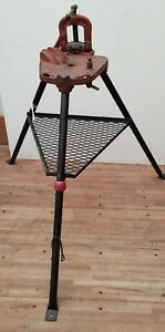 Ridgid 40 Vise Tripod Stand W Clamp C 240 For Pipe Threading Threader 300 700 2