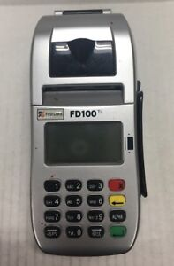 First Data Fd100ti Fd 35 Credit Card Terminal Reader Pos Set Pin Pad