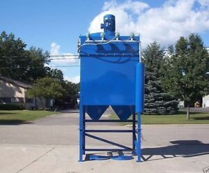 Dust Collector 20 Hp 24 Cartridge Reverse Pulse Variable Speed
