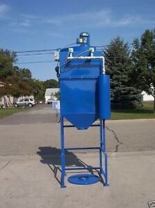Dust Collector 2 Hp 1250 Cfm 2 Cartridge Reverse Pulse Variable Frequency