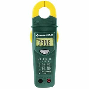 Greenlee Cmt 80 600 volt 400 amp Ac Durable Compact Automatic Electrical Tester