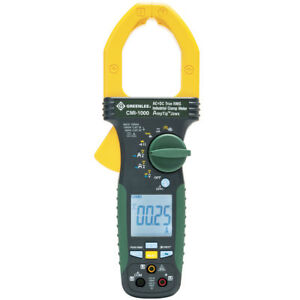 Greenlee Cmi 1000 1 000 amp Durable Industrial Ac dc True Rms Clamp Meter