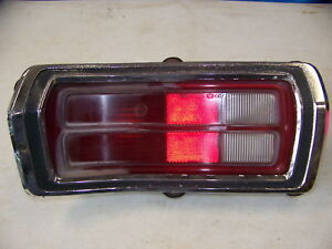 1973 Plymouth Duster Lh Taillight Oem 1974 1975 1976