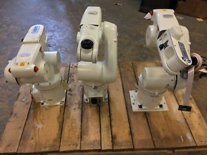 Lot Of 3 Omron Adept Technologies Viper S650 Robotic Arm Good Condition