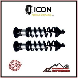 Icon Vehicle Dynamics Travel Front Coil Over Shock Kit For 00 06 Toyota Tundra
