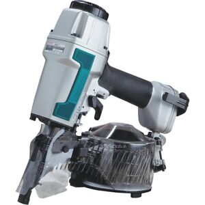 Makita An611 1 1 4 inch To 2 1 2 inch Coil Siding Nailer refurbished