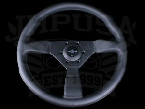 Personal Grinta 350mm Black Edition Leather Steering Wheel 6430 35 2071