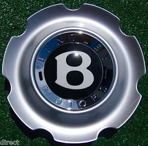 Perfect Genuine Oem Factory Bentley Continental 21 Inch Elegant Wheel Center Cap