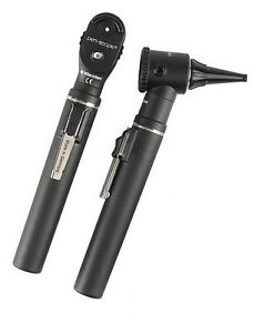 Riester 2131 202 E scope Otoscope And Ophthalmoscope Set Halogen Black