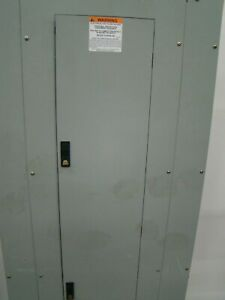 Used Ge 600amp 480v 3phase 4w Nema 1 Enclosure