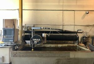 2005 Omax 55100 Cnc Waterjet Cutting Ref 7795435