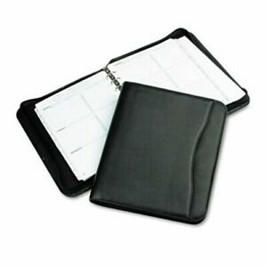 Day timer Simulated Leather Organizer Set 8 5 X 11 Black dtm82831
