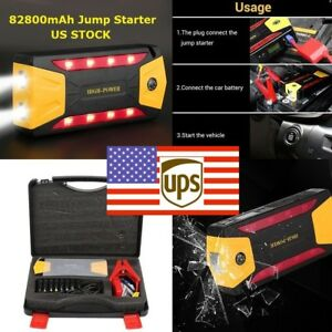 82800mah Car Jump Starter Power Bank Emergency Booster Battery 48 Hours Delivery