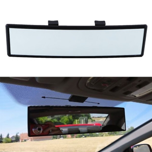 240mm Car Truck Interior Rearview Convex Face Wide Rear View Mirror Clip On
