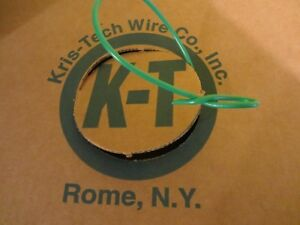 500 Roll Box Kris Tech Solid Insulated Copper Ground Wire Green 12 Awg Gauge