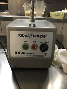 Robot Coupe R602 Series E Food Processor Base Only New Motor Installed