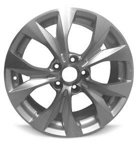 New 17 X7 Aluminum Wheel Rim Fits 2012 2013 Honda Civic 10 Spokes 5 Lug 114 3mm