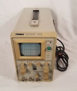Tenma Oscilloscope Test Equipment Model 72 6602 Used Tested Works