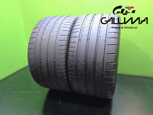 2 Michelin Tires 295 30 20 Zr Pilot Super Sport 101y Oem Bmw 46417