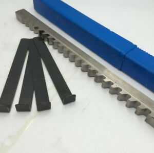 5 8 E Push Type Inch Keyway Broach Cutter Hss Cutting Tool For Cnc Metalworking