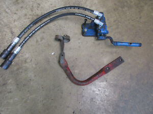 Ford 3000 4000 5000 Tractor Original Old Style Stack Remote Valve With Hoses