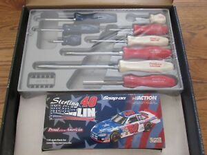New Snap On Proud To Be An American Screwdriver Set 9 Pc Red White Blue Ssdx80