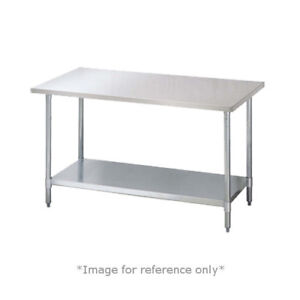 Turbo Air Tsw 3096e 96 w X 30 d 18 430 Stainless Steel Work Table