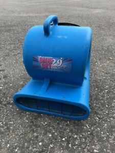 Air Mover Omnidry 2 9 Amp Stackable 1 3 Horse Power Restoration