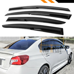 For 2012 2016 Subaru Impreza Base 4dr 3d Wavy Window Visor Rain Guard Deflector