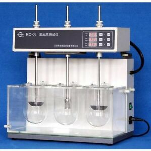 Dissolution Tester Tablet Capsule Dissolution Tester Three Vessels Rc 3