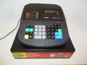 Royal 500dx Electronic Cash Register Front Rear Lcd Displays