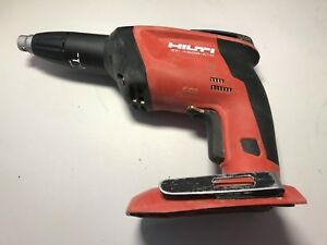 Used Hilti Sd 4500 a18 Cordless Drywall Screwdriver