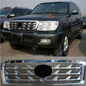 For Toyota Land Cruiser Lc100 Fzj100 2006 07 Silver Scale Front Bumper Grille