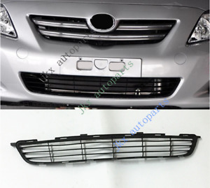 For Toyota Corolla 2007 09 Plastic Black Oem Front Bumper Lower Grille Grill