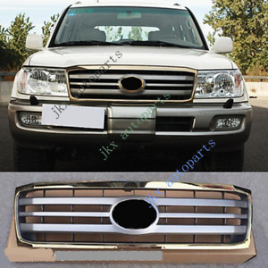 For Toyota Land Cruiser Lc100 Fzj100 2006 07 Gold Gray Front Bumper Grille