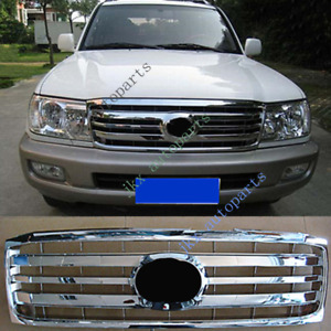 For Toyota Land Cruiser Lc100 Fzj100 Uzj100 2006 07 Silver Front Bumper Grille