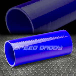 3 X 8 Long 3 ply Turbo intake intercooler Piping Silicone Coupler Hose Blue
