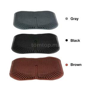 16 5 Silica Gel Car Seat Cushion Cooling Chair Pad For Office Truck Home Y6x8