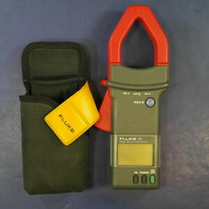 Fluke 31 Trms Clamp Meter Good With Case See Details