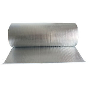 Double Bubble Foil Heat Shield Insulation Reflective Wrap Radiant Barrier 39 w