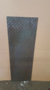 1 4 Hr Steel Tread Plate 11 7 8 X 36
