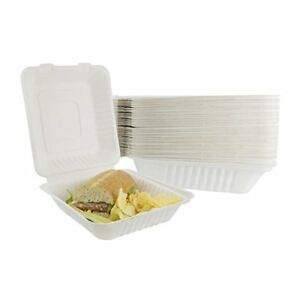 Houseables Takeout Containers To Go Box Restaurant Take Out Food Container