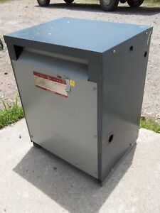 Ge General Electric Transformer 9t23a3872 30kva 480v Dry 3ph or47