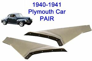 1940 1941 Plymouth Steel Running Board Set 40 41 Made In Usa 16 Gauge