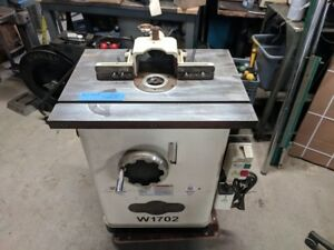 Shop Fox 3 Hp Shaper W1702 Single Phase